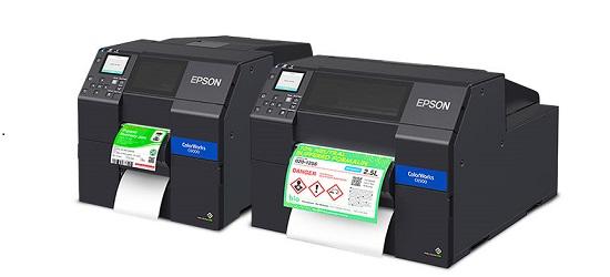 Epson Colorworks C6000 e C6500